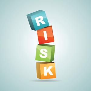 Colour risk blocks falling